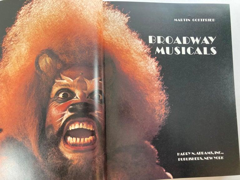 Broadway Musical Martin Gottfried 1979 Hardcover Book 1