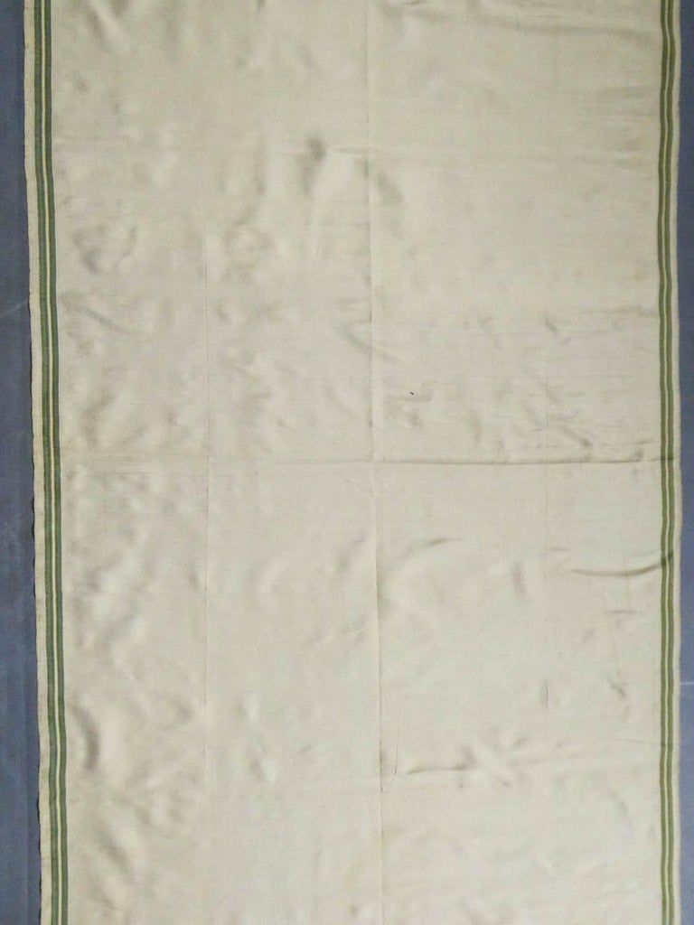 Brocaded Silk Scarf - Spitalfield Manufacture England around 1820 For Sale 4