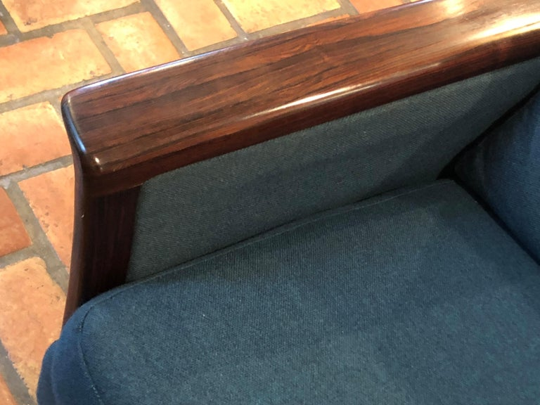Broderna Anderssons Rosewood Sofa For Sale 4