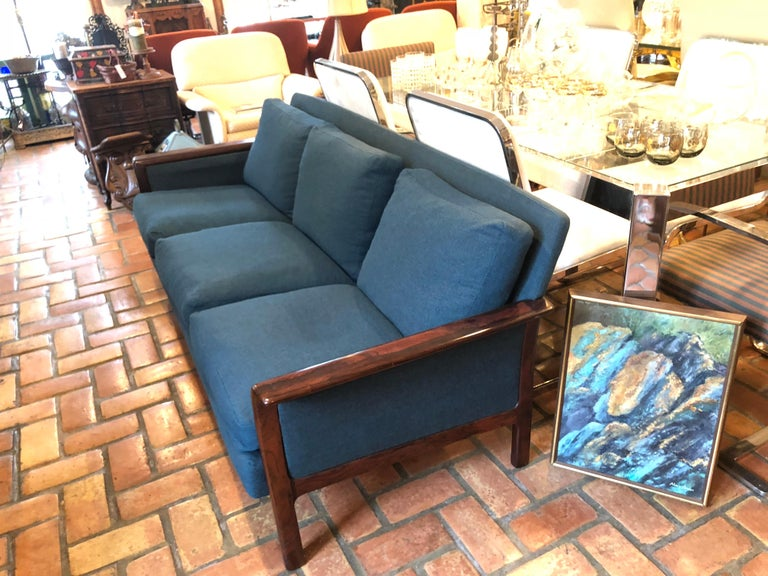 Broderna Anderssons Rosewood Sofa For Sale 5