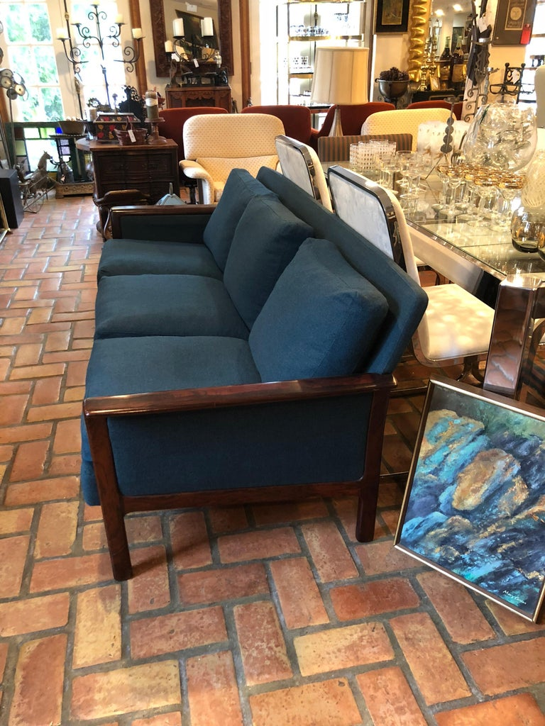 Broderna Anderssons Rosewood Sofa For Sale 6