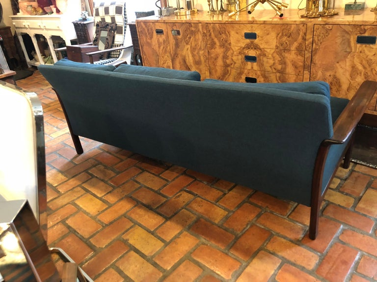 Broderna Anderssons Rosewood Sofa For Sale 8