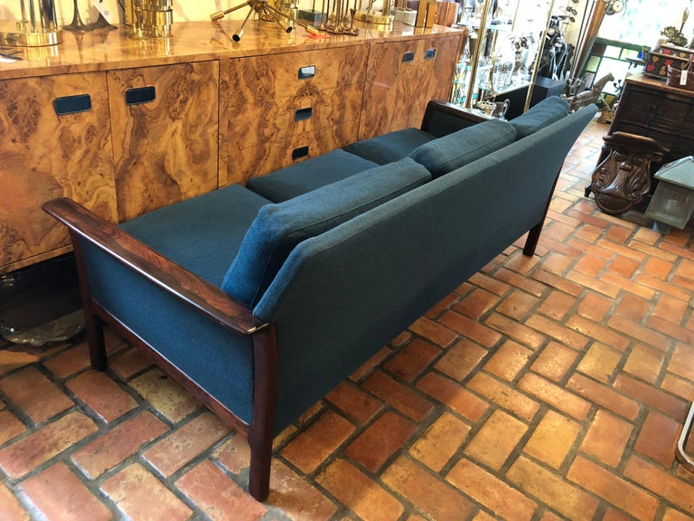 Broderna Anderssons Rosewood Sofa For Sale 11