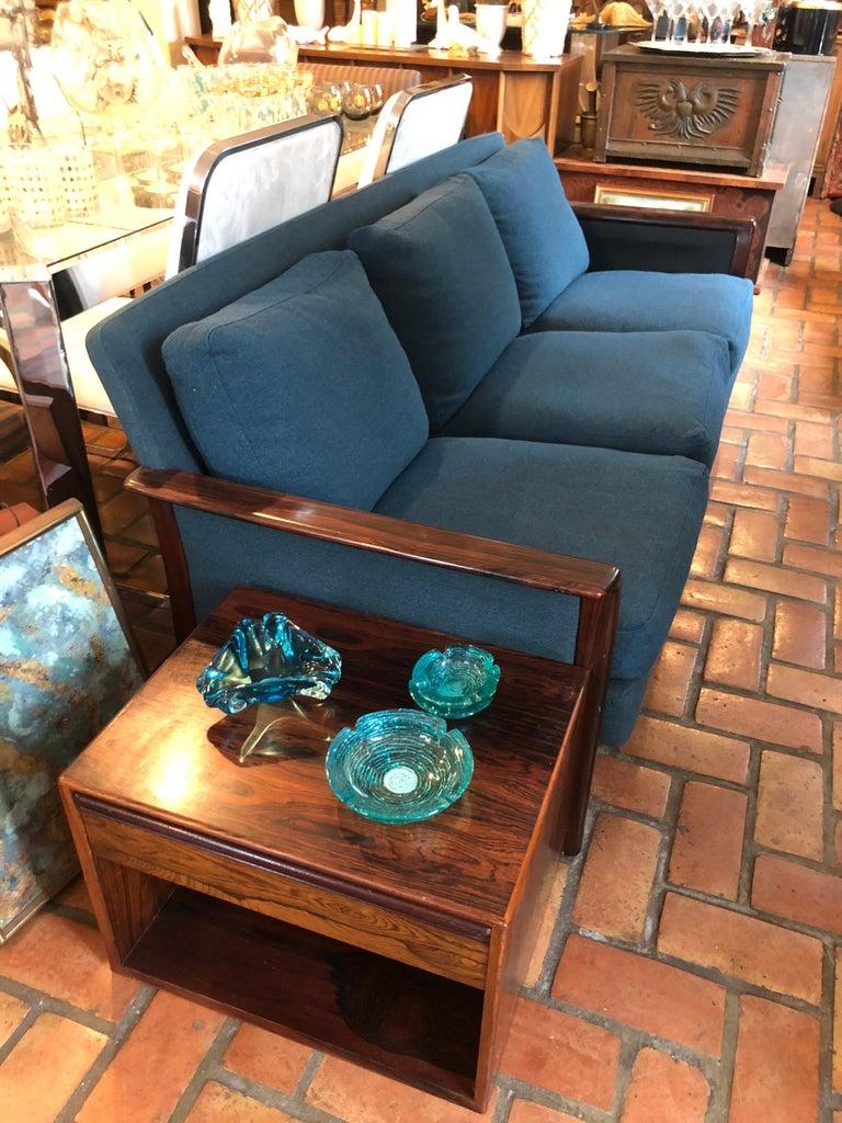 Scandinavian Modern Broderna Anderssons Rosewood Sofa For Sale