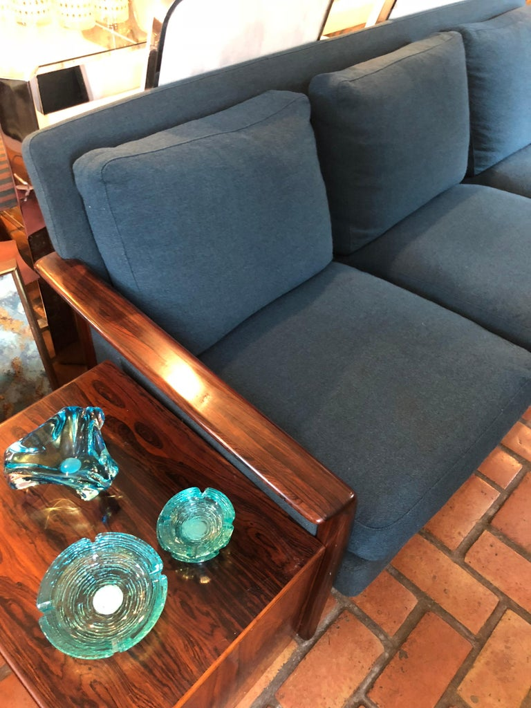 Swedish Broderna Anderssons Rosewood Sofa For Sale