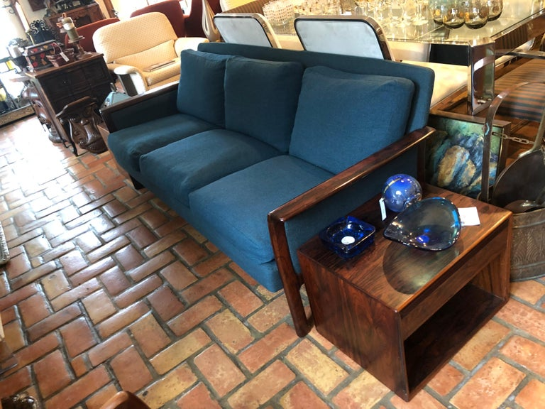 Broderna Anderssons Rosewood Sofa In Good Condition For Sale In Redding, CT