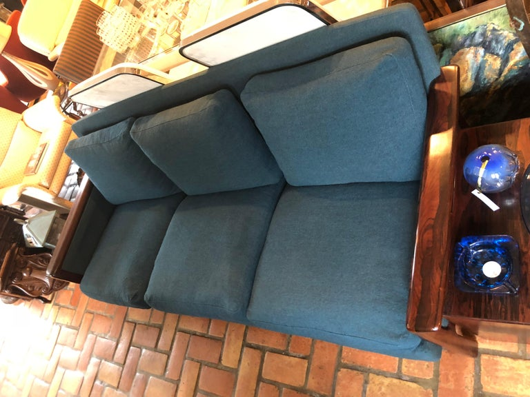 Mid-20th Century Broderna Anderssons Rosewood Sofa For Sale