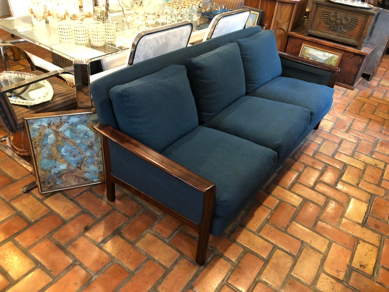 Upholstery Broderna Anderssons Rosewood Sofa For Sale