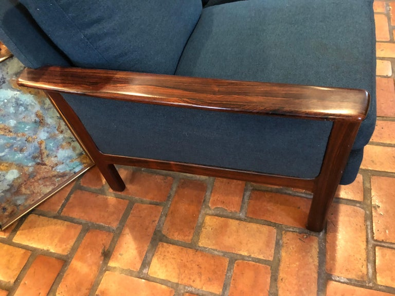 Broderna Anderssons Rosewood Sofa For Sale 2