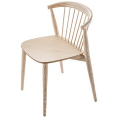 Brogliato Traverso Newood Chair in Bleached Ash Structure for Cappellini