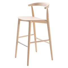 Brogliato Traverso Newood Light Stool in Solid Ashwood for Cappellini