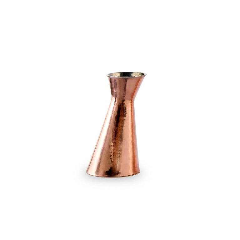 Modern Broka Copper Carafe by Cristian Visentin For Sale