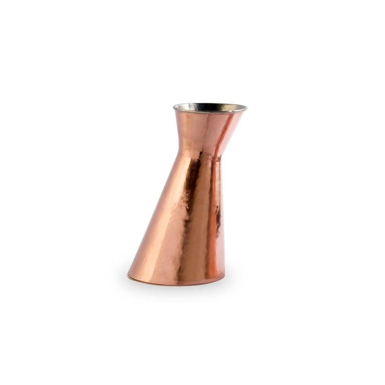 Italian Broka Copper Carafe by Cristian Visentin For Sale