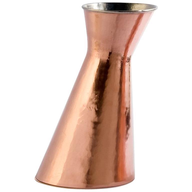 Broka Copper Carafe by Cristian Visentin For Sale