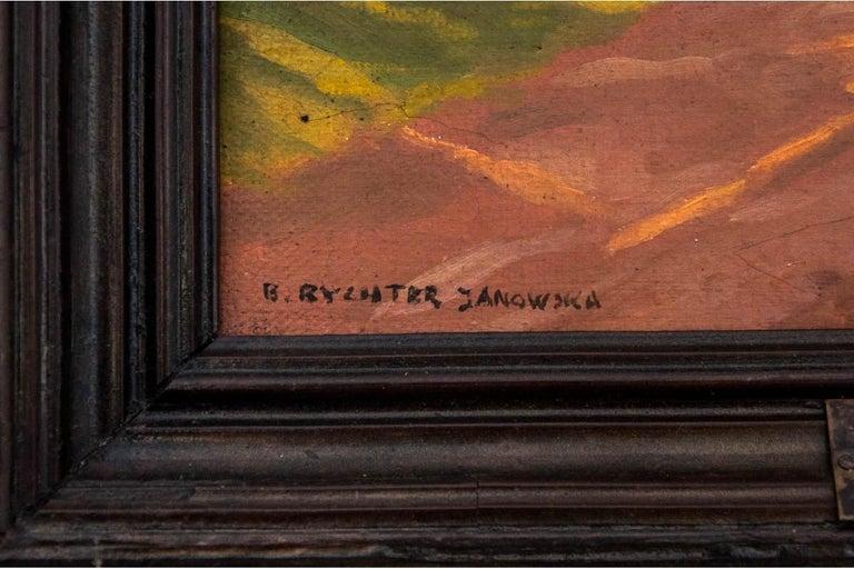 Polish Bronisława Rychter-Janowska