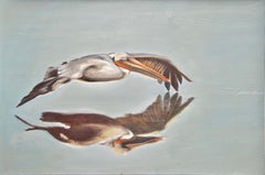 Pelican2, Painting, Oil on Canvas