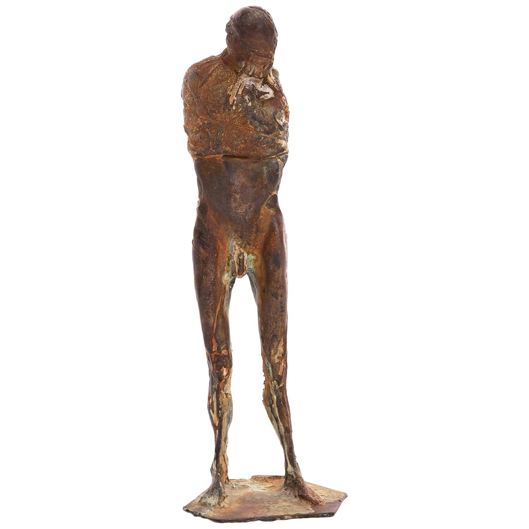 Bronze 1970s Figurative Sculpture by Carl Dahl