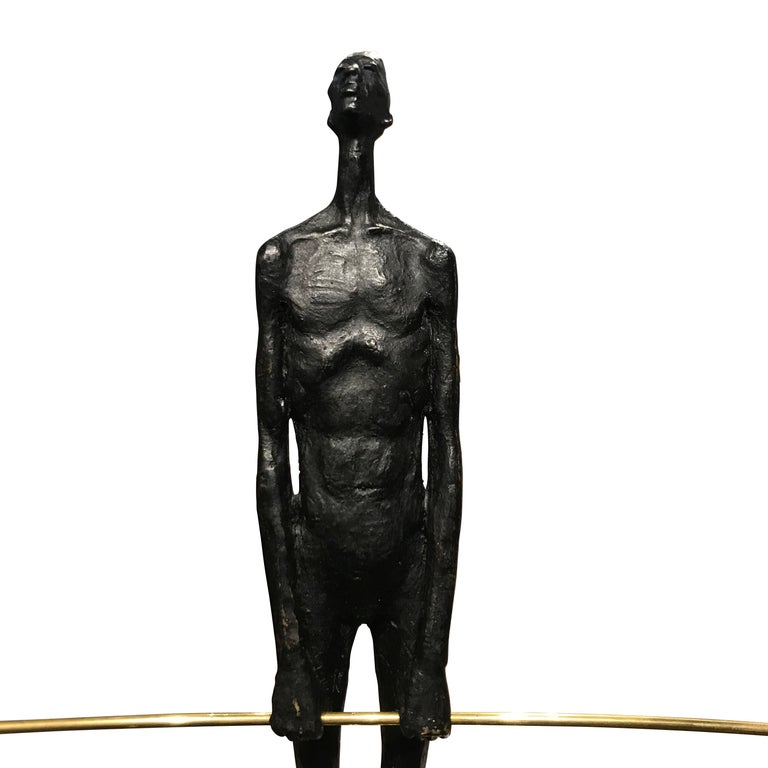 Bronze Acrobat Sculpture, Contemporary, German For Sale 1