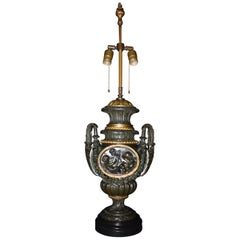 Bronze and Gilt Bronze Lamp Base