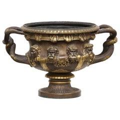 Bronze and Gilt-Bronze 'Warwick' Vase by Barbedienne, Paris, circa 1870