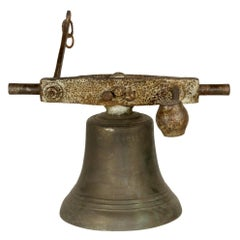 Bronze and Iron Bell, circa 1890
