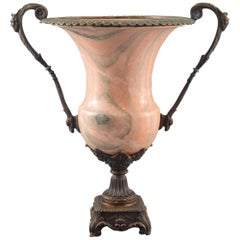 Bronze and Marble Vase or Cup