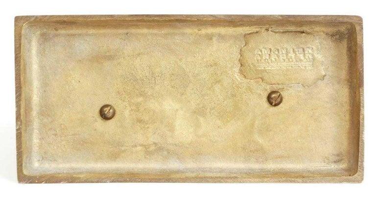 Bronze Apple Halves Sculpture For Sale 8