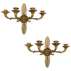 Bronze-Appliqués aus dem 19. Jahrhundert