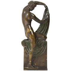 Bronze Art Nouveau Sculpture