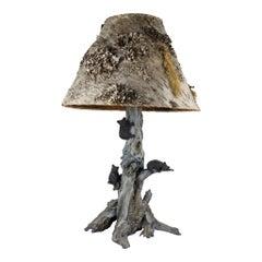Bronze Bear Lamp by Paul Carrico