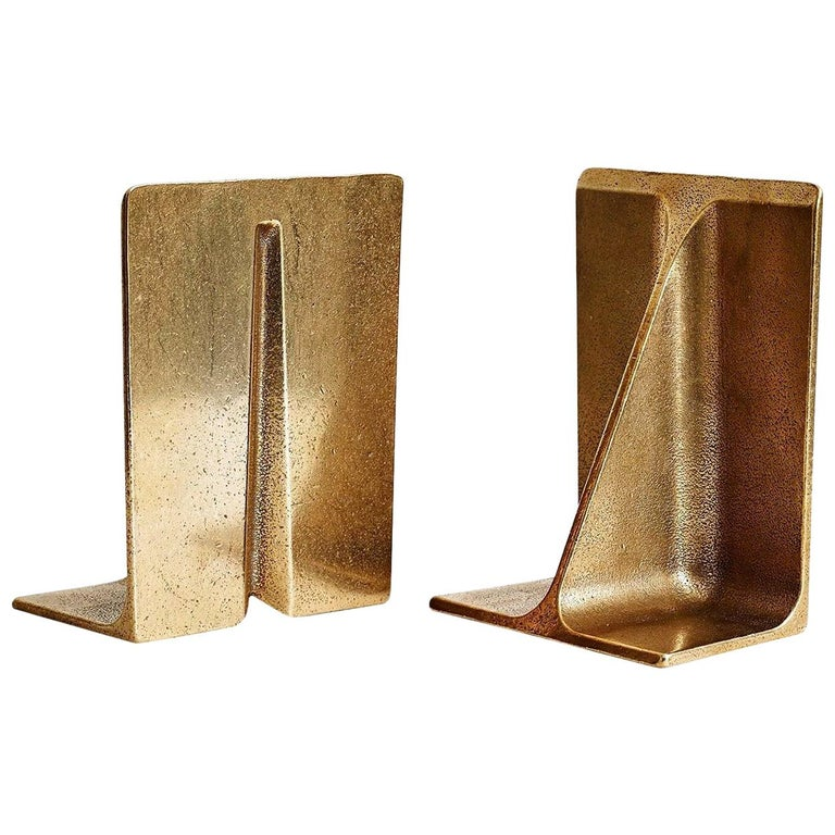 Bronze Bookends by Henry Wilson