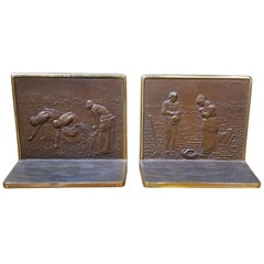 Bronze Bookends by Judd Company