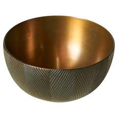 Bronze Bowl by Axel Salto for Royal Copenhagen