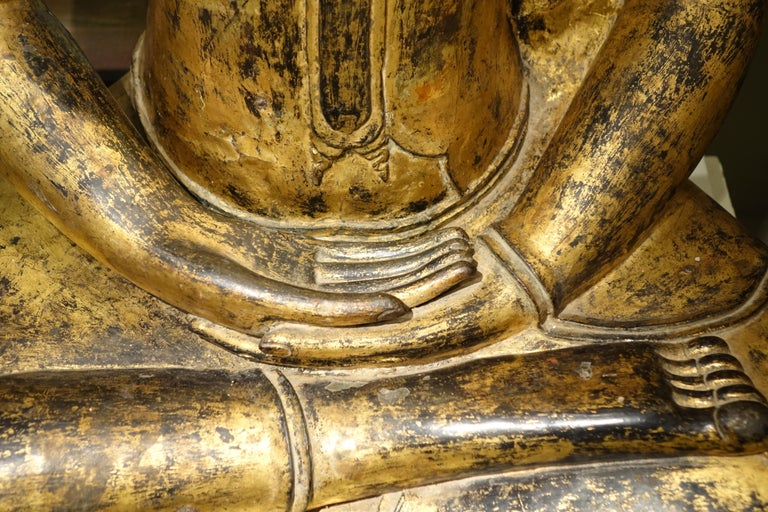 Bronze Buddha Statue, Thailand, 19th Century 3