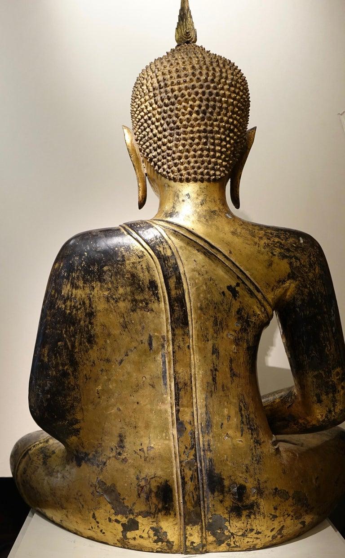 Bronze Buddha Statue, Thailand, 19th Century 5