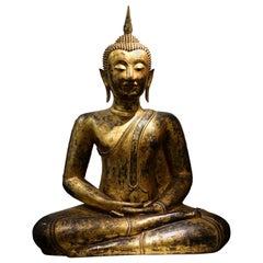 Bronze Buddha Statue, Thailand, 19th Century