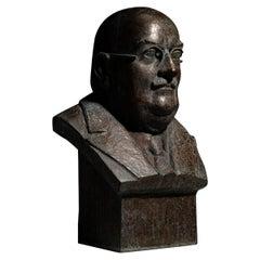 Bronze Bust, France, circa 1930