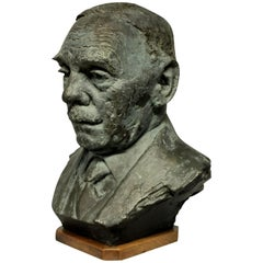 Bronze Bust in the Manner of Epstein