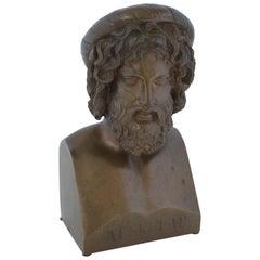 Bronze Bust of Aeskulap