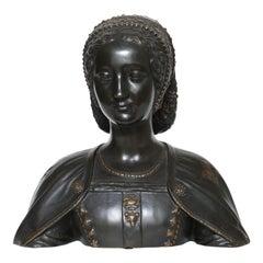 Bronze Bust of Catherine de Medici
