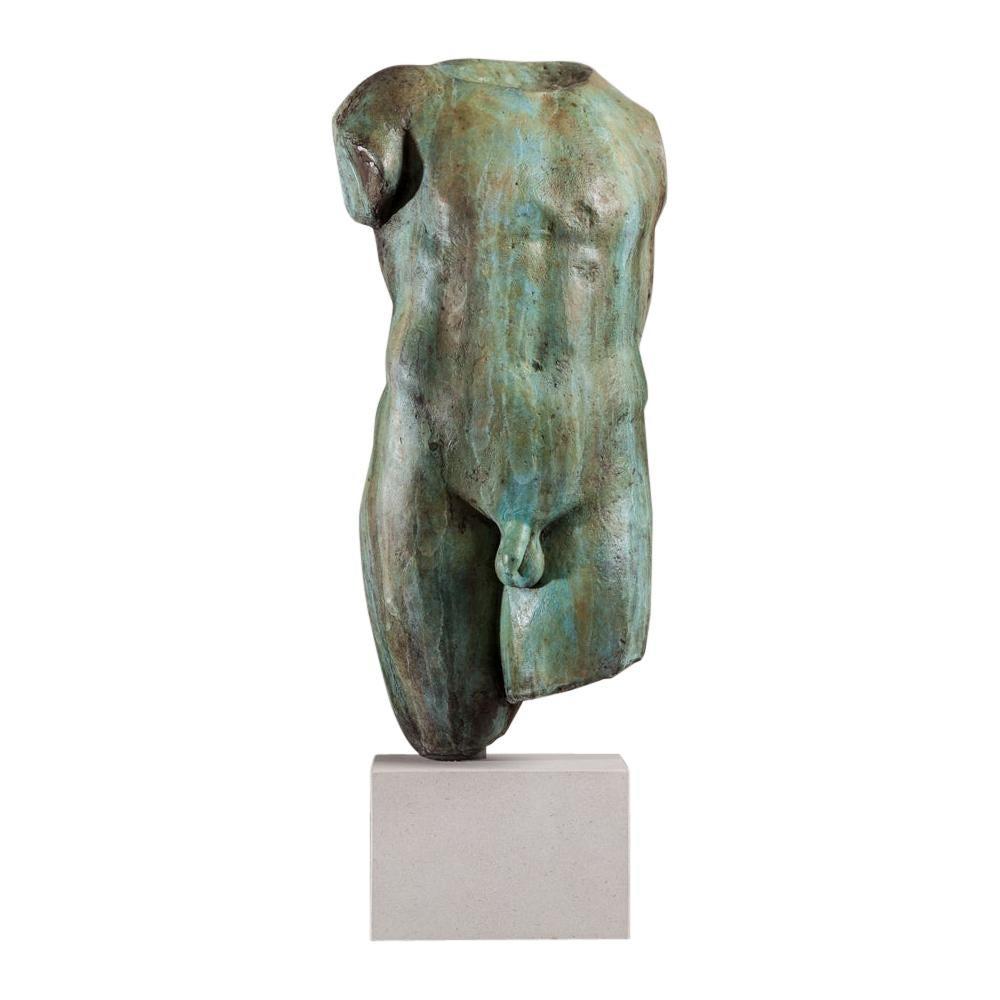 Bronze Cast of a Torso 'After the Antique'