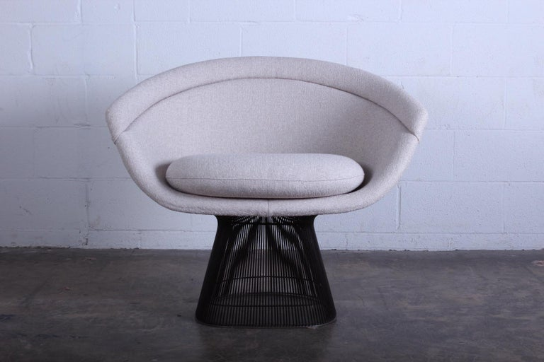 Bronze Chair by Warren Platner for Knoll In Excellent Condition For Sale In Dallas, TX