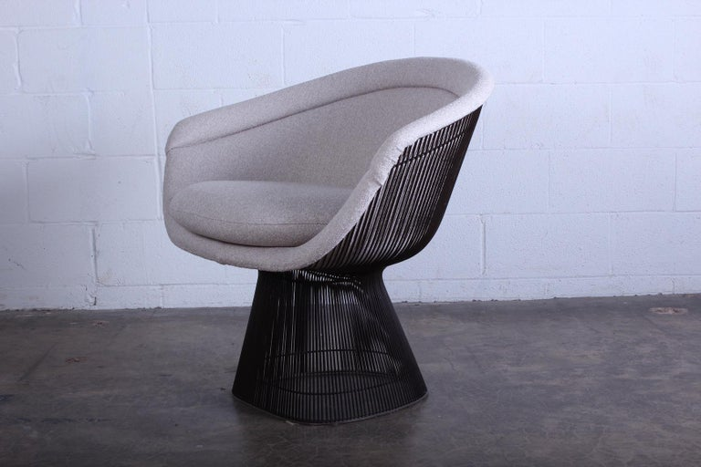 Bronze Chair by Warren Platner for Knoll For Sale 1