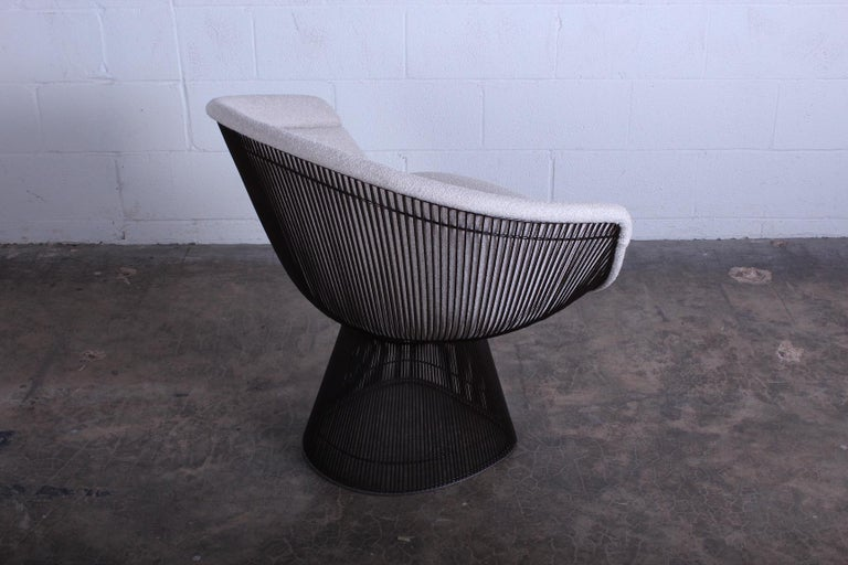 Bronze Chair by Warren Platner for Knoll For Sale 4