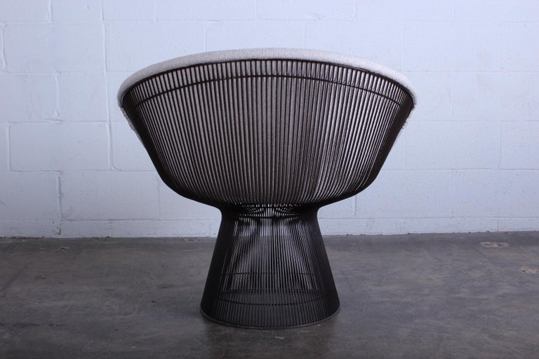Bronze Chair by Warren Platner for Knoll For Sale 5