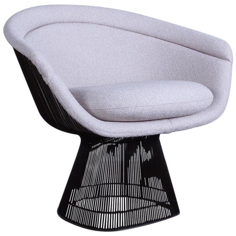 Bronze Chair by Warren Platner for Knoll For Sale