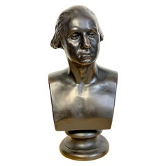 Bronze Clad Bust of George Washington, after Houdon