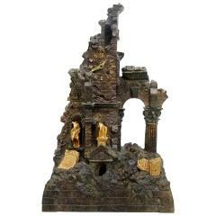 Bronze Classical Style Clock, Napoleon III Period