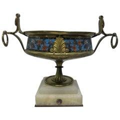 Bronze Cloisonné Centerpiece Bowl