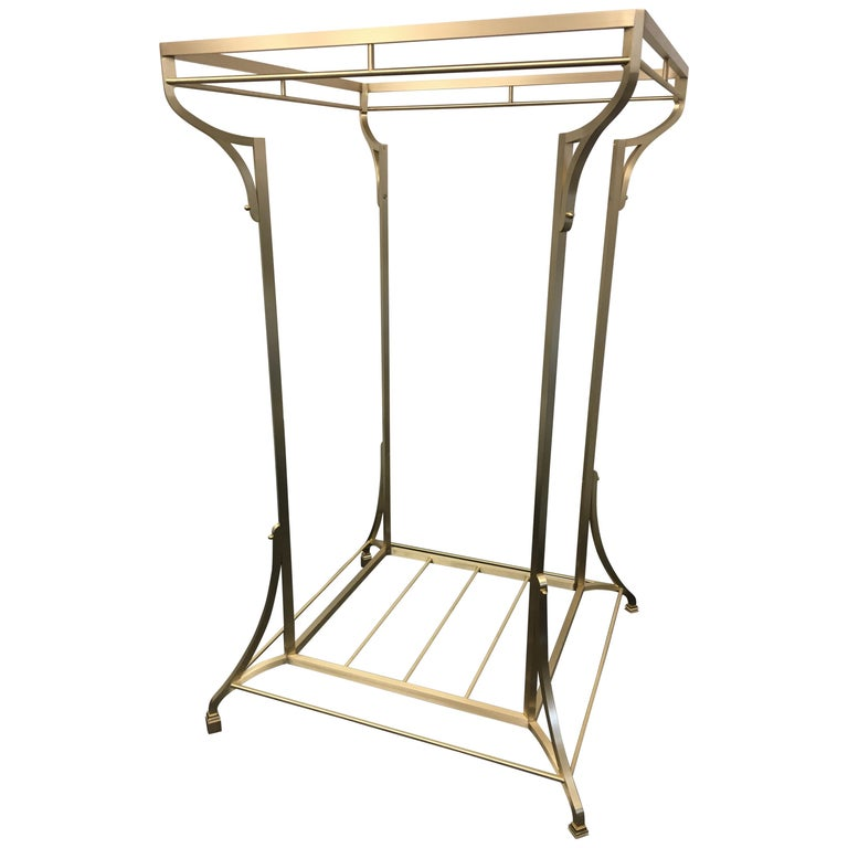 Bronze Closest Organization Clothes and Shoes Rack For Sale